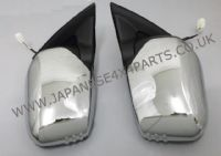 Mitsubishi L200 Pick Up 2.5DID - B40 - KB4T (03/2006-03/2015) - Door Mirror Chrome Electric Pair